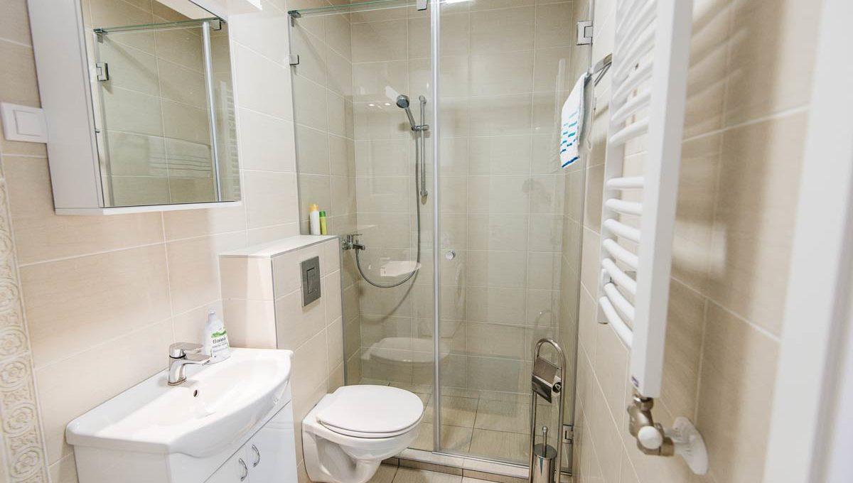 Apartman Bianca kupatilo i tus kabina