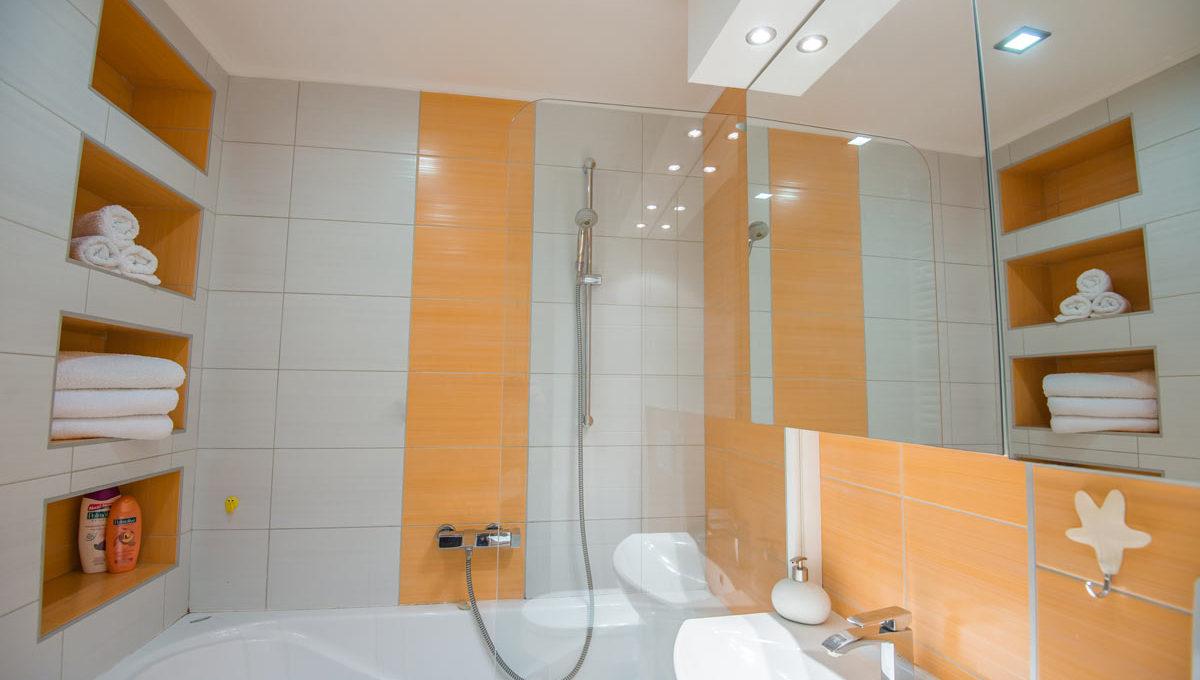 Apartman Strand kupatilo