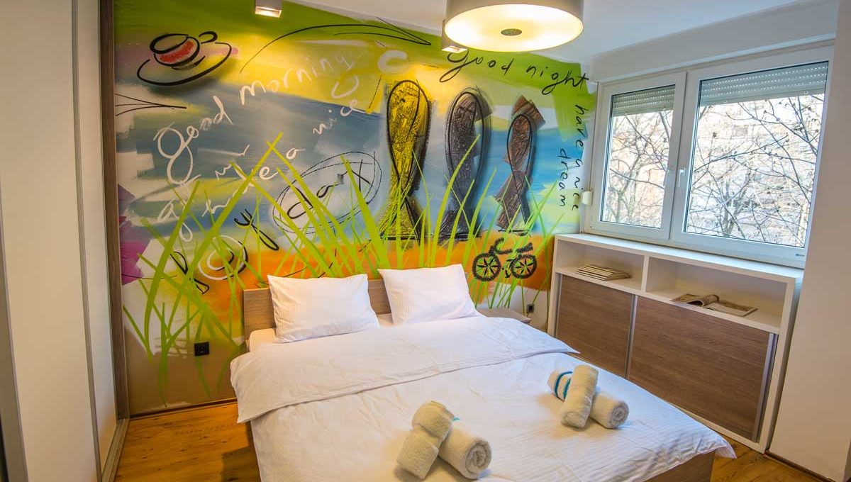 Apartman Strand bracni krevet