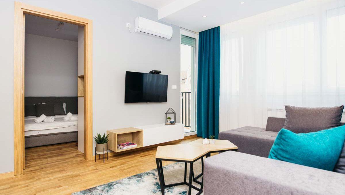 Apartman A17 dnevna soba iz drugog ugla