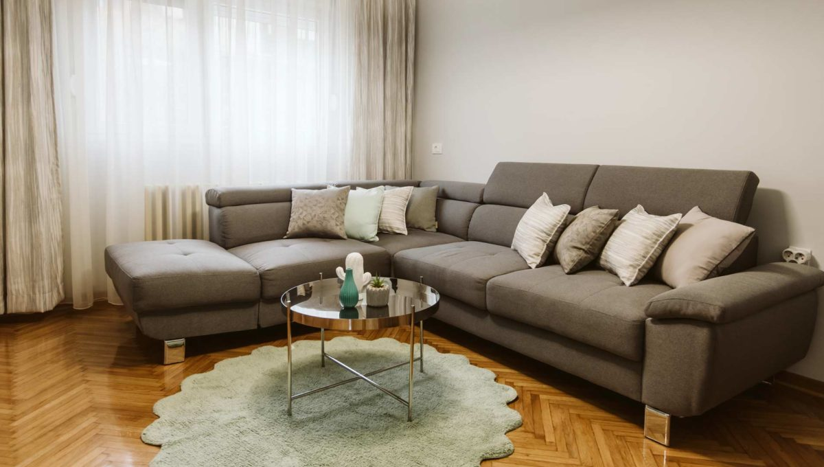 Apartman Sari siva ugaona garnitura
